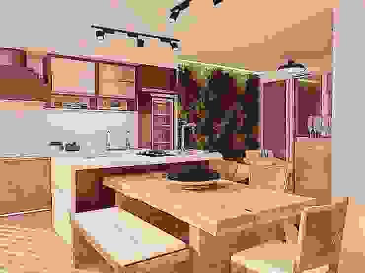 Varanda Gourmet C|F Domani Arquitetura e Interiores Varandas