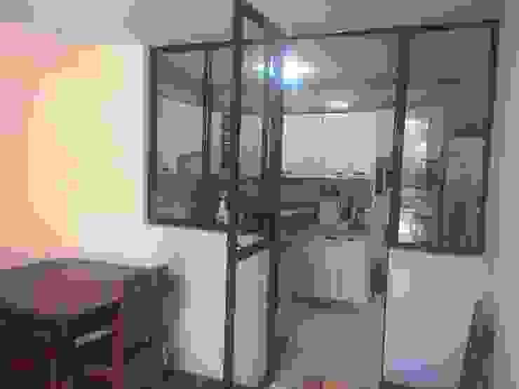 Antes / Conexion cocina-estar de Estudio Arquitectura y construccion PR/ Remodelaciones y Diseño de interiores / Santiago, Rancagua y Viña del mar