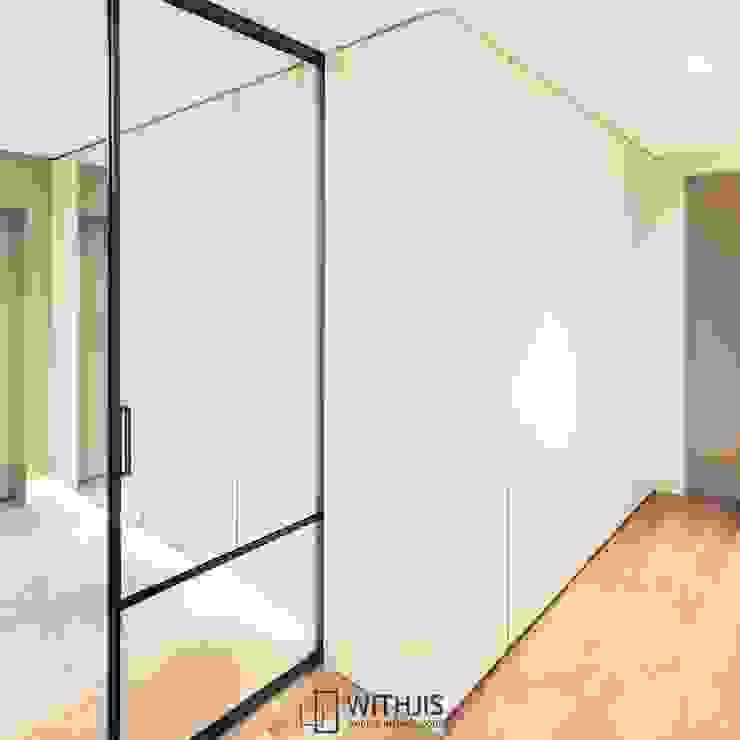ALU-SD 1742, 1SD(슬라이딩도어1) 모던스타일 복도, 현관 & 계단 by WITHJIS(위드지스) 모던 알루미늄 / 아연