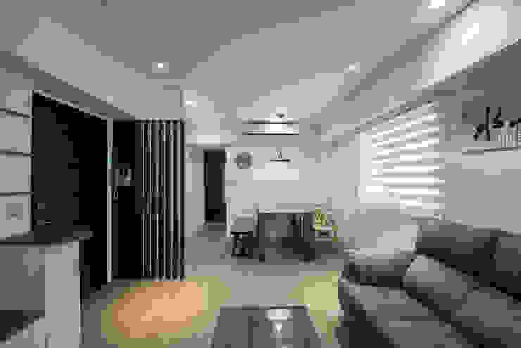 給老建築新生命的改造工程 根據 富亞室內裝修設計工程有限公司 簡約風 塑木複合材料