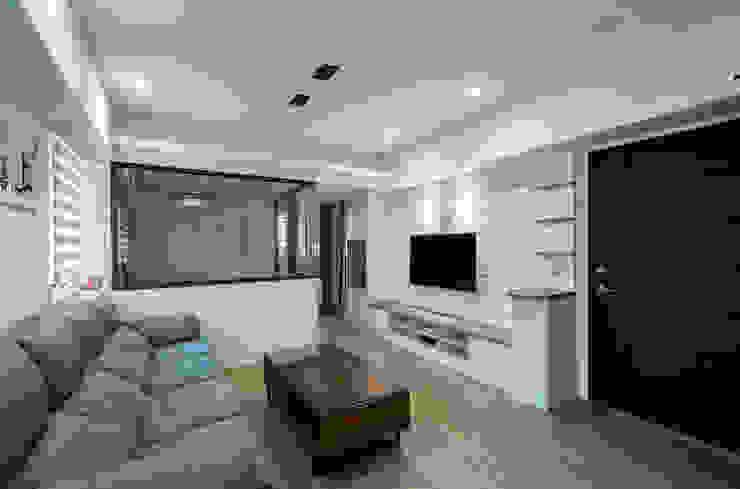 給老建築新生命的改造工程 根據 富亞室內裝修設計工程有限公司 北歐風 石板