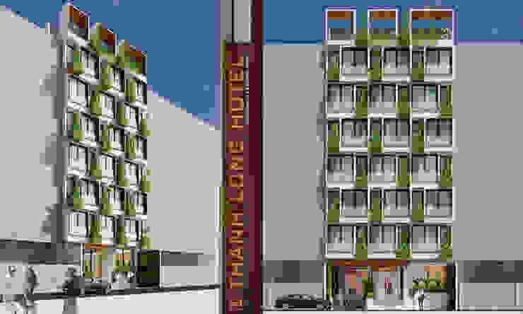 thiết kế khách sạn hiện đại CEEB Casas estilo moderno: ideas, arquitectura e imágenes
