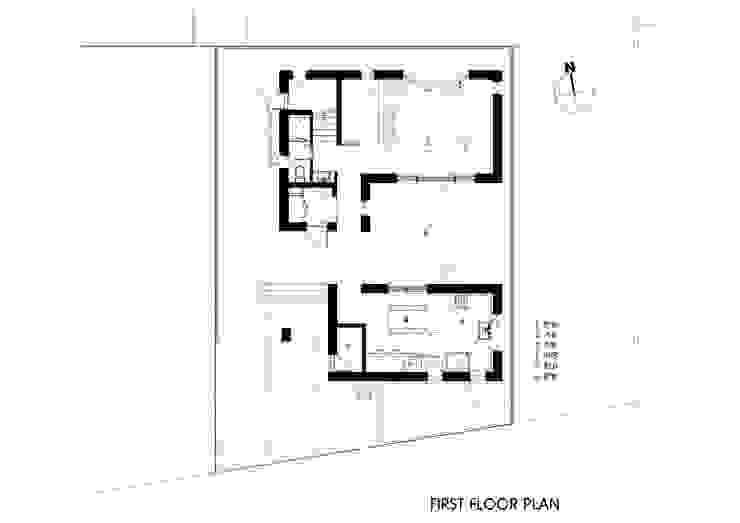 1층평면도 by 호림건축사사무소
