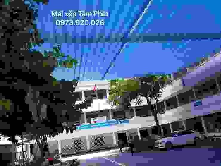 Thiết kế & Thi công mái che sân trường tại Dình Dương, Đồng Nai, TP.Hồ Chí Minh bởi CÔNG TY TNHH CK XD TM DV TÂM PHÁT