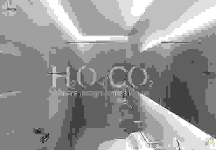 質樸 現代浴室設計點子、靈感&圖片 根據 光合作用設計有限公司 現代風