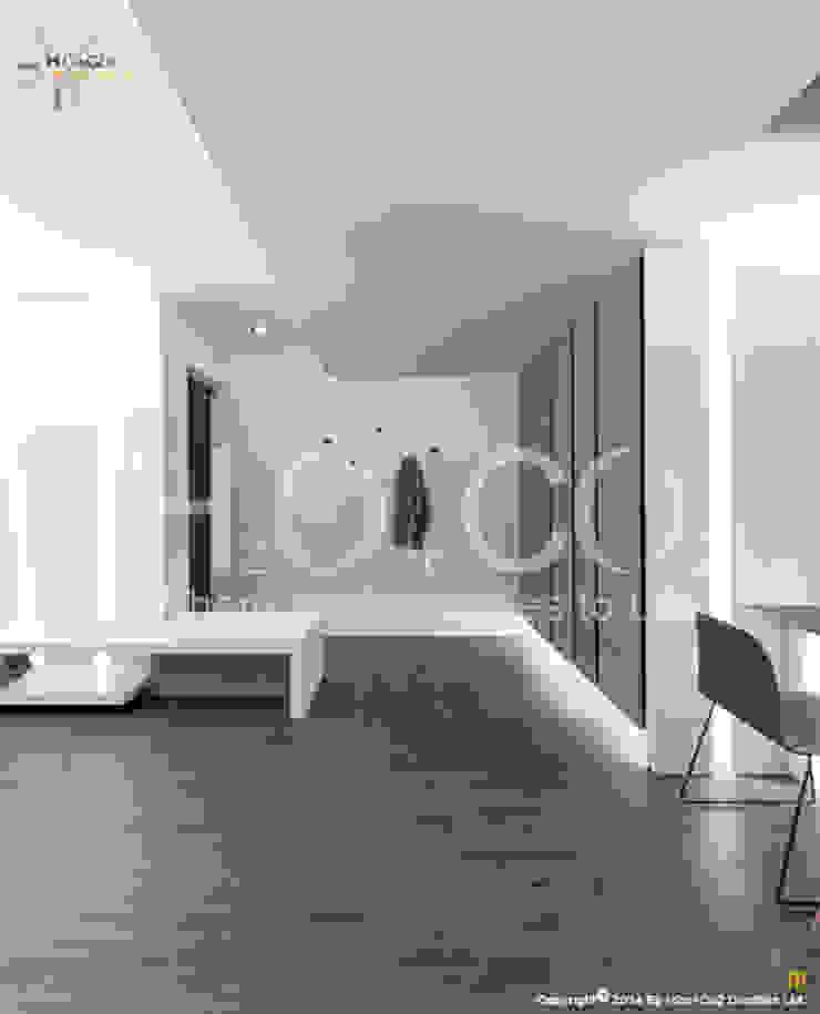 質樸 現代風玄關、走廊與階梯 根據 光合作用設計有限公司 現代風