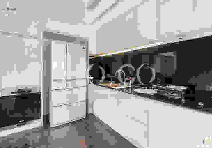 質樸 現代廚房設計點子、靈感&圖片 根據 光合作用設計有限公司 現代風