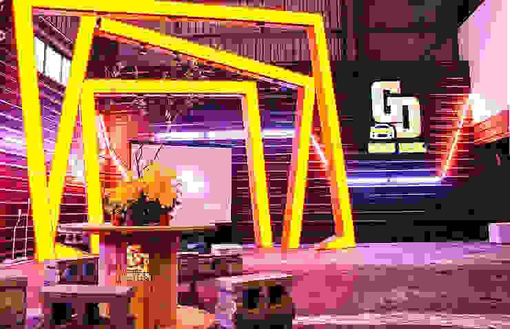 美好關係x勁德汽車 業傑室內設計 商業空間 金屬 Yellow