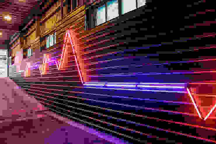 美好關係x勁德汽車 業傑室內設計 商業空間 金屬 Pink