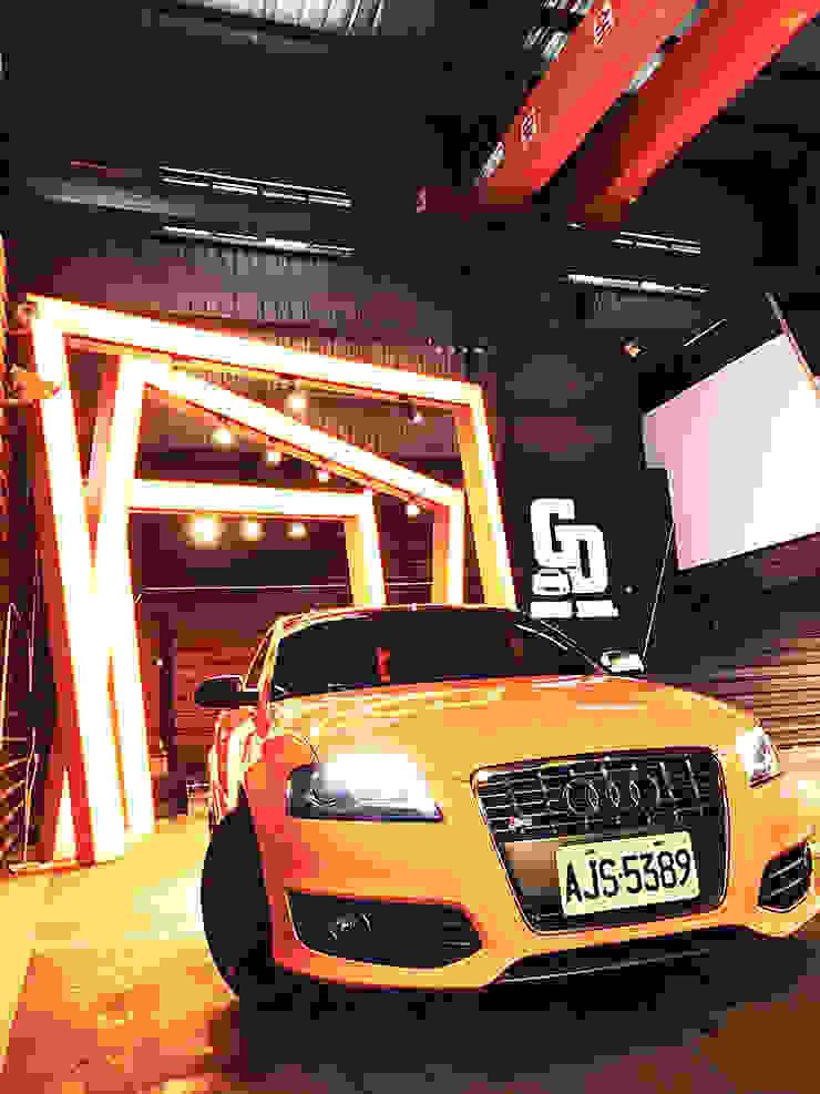 美好關係x勁德汽車 業傑室內設計 汽車交易商 金屬 Yellow