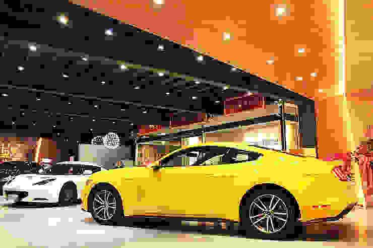 美好關係x勁德汽車 業傑室內設計 商業空間 Yellow
