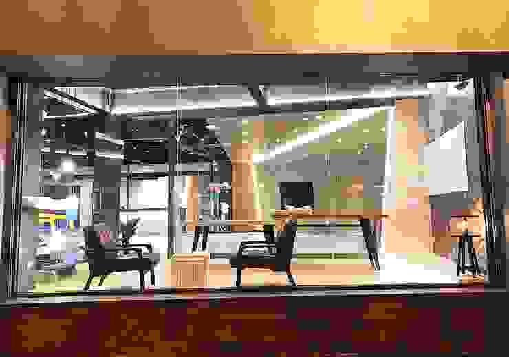 美好關係x勁德汽車 業傑室內設計 會議中心 塑木複合材料 Black