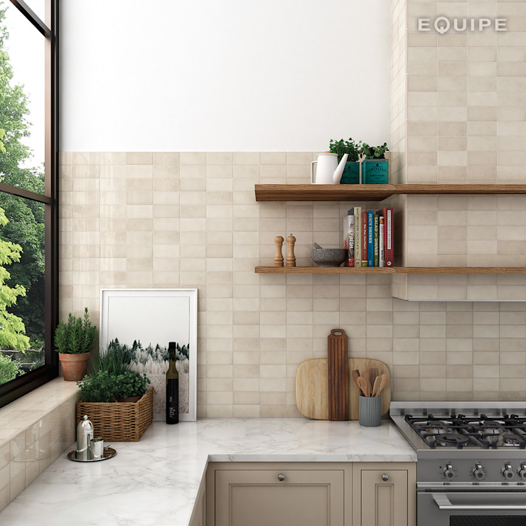 Equipe Ceramicas Kitchen Tiles Beige