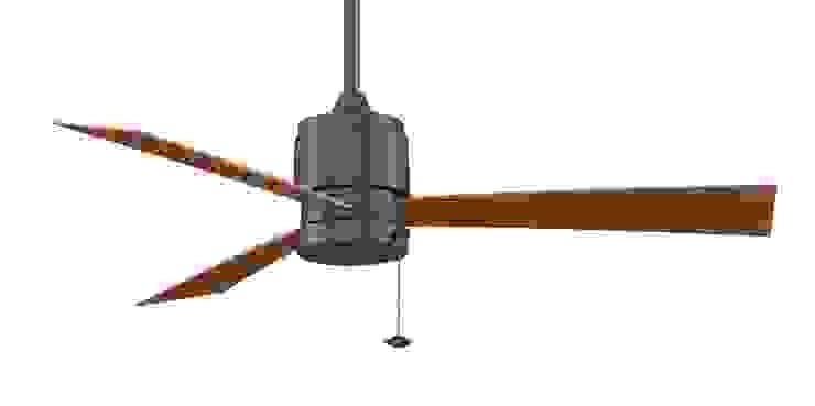 CASA BRUNO Zonix II ventilador de techo, bronce antiguo, para zonas mojadas de Casa Bruno American Home Decor Moderno