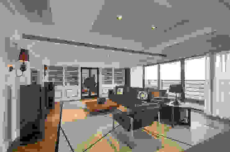 古典美學 邑舍室內裝修設計工程有限公司 客廳