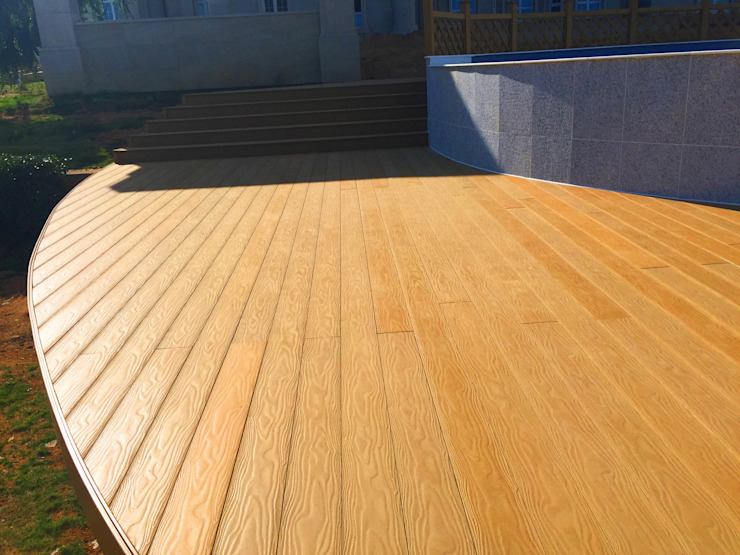 composite decking by Coowin Group Modern