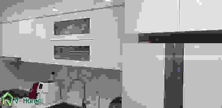 Không gian nhà bếp: hiện đại  by Công ty CP tư vấn thiết kế và xây dựng V-Home, Hiện đại