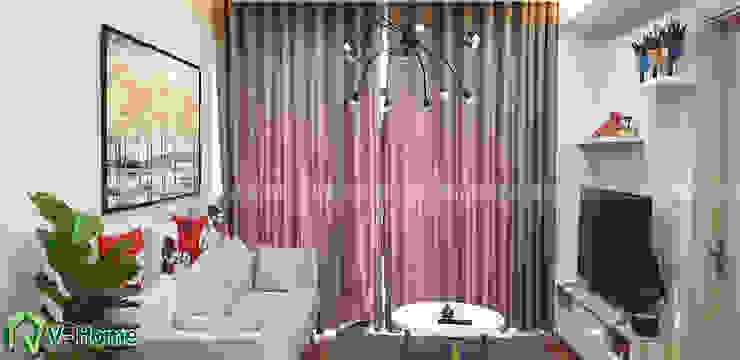 Phòng khách căn hộ: hiện đại  by Công ty CP tư vấn thiết kế và xây dựng V-Home, Hiện đại