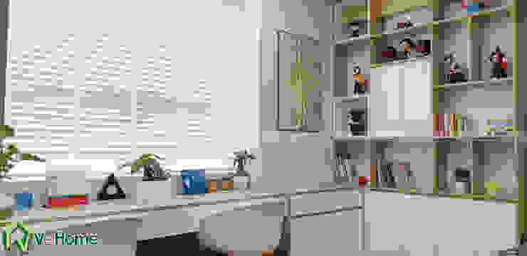 Bàn học cho trẻ: hiện đại  by Công ty CP tư vấn thiết kế và xây dựng V-Home, Hiện đại
