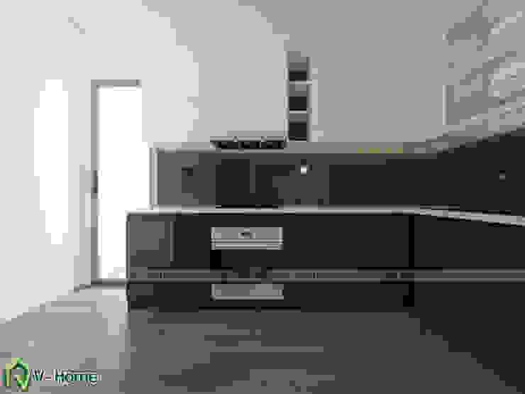 Thiết kế nội thất căn hộ chung cư Iris Garden Mỹ Đình – Ms.Liên bởi Công ty CP tư vấn thiết kế và xây dựng V-Home