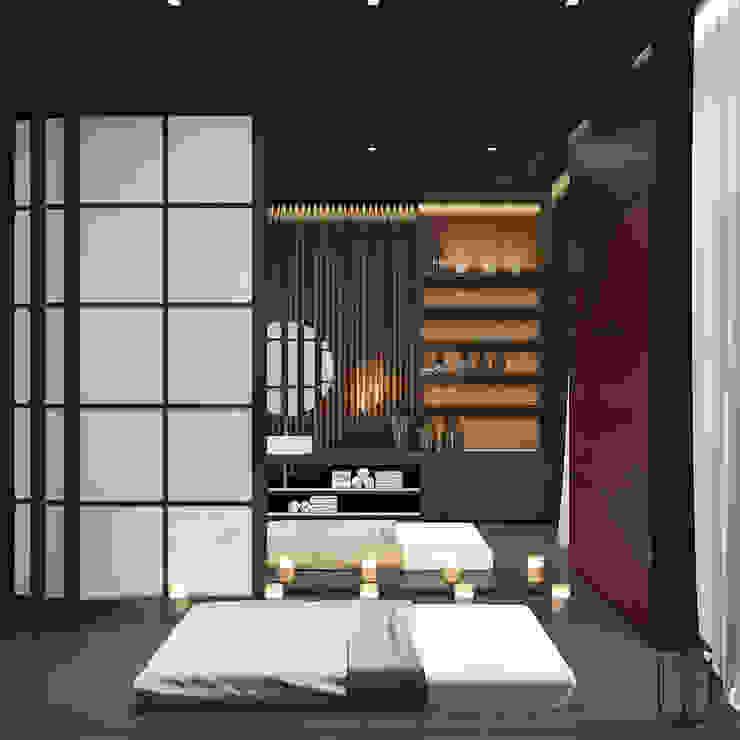 Spa original par U-Style design studio Éclectique