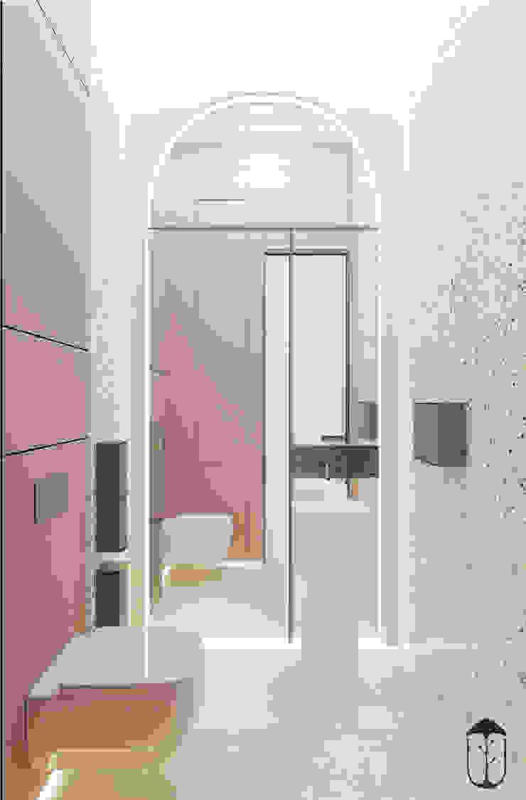 Salle de bain originale par U-Style design studio Éclectique