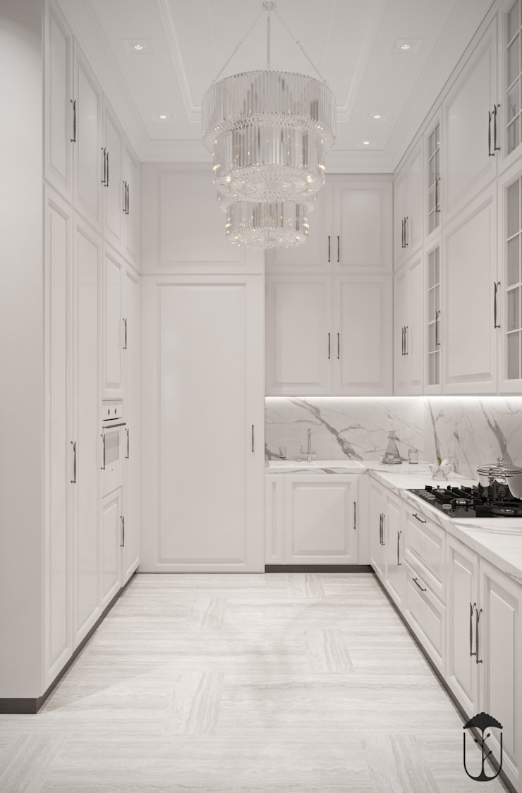 Cocinas de estilo clásico de U-Style design studio Clásico