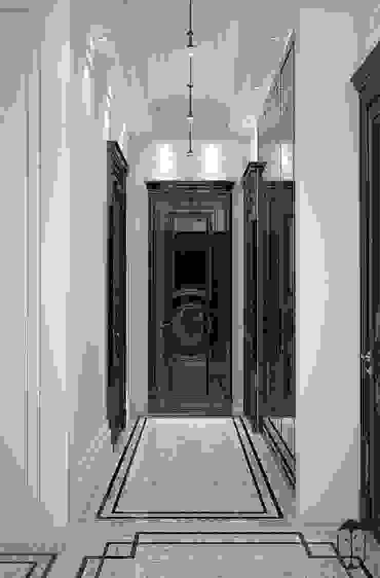 Pasillos, vestíbulos y escaleras de estilo clásico de U-Style design studio Clásico