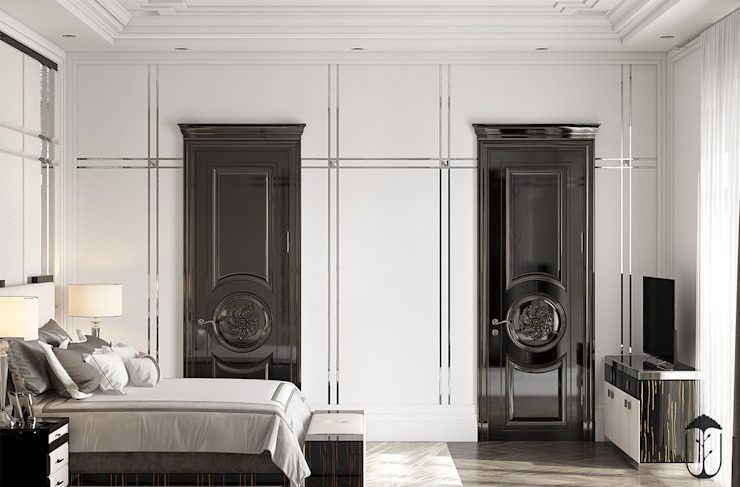 Cuartos de estilo clásico de U-Style design studio Clásico