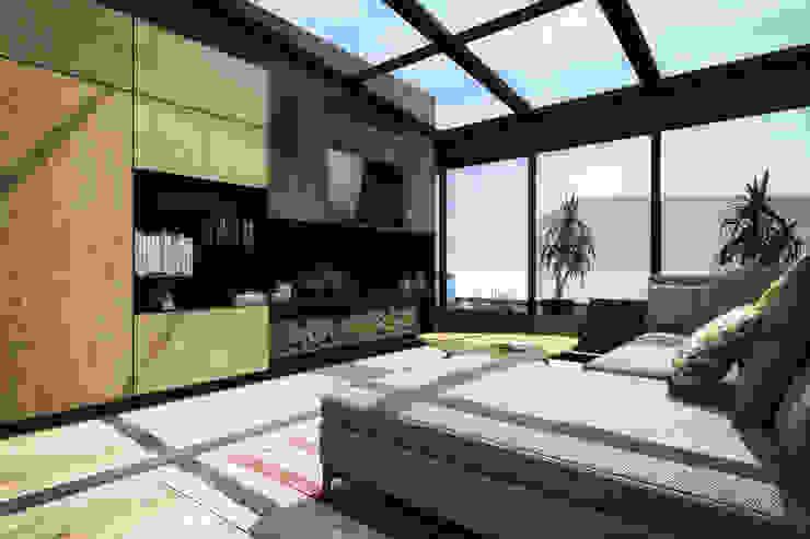 M Çatı Katı // M Roof Top ofisvesaire Çatı teras