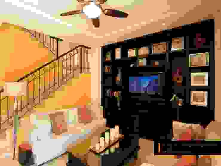 Modern living room by RGR Arquitectos + Urban Strategy Modern