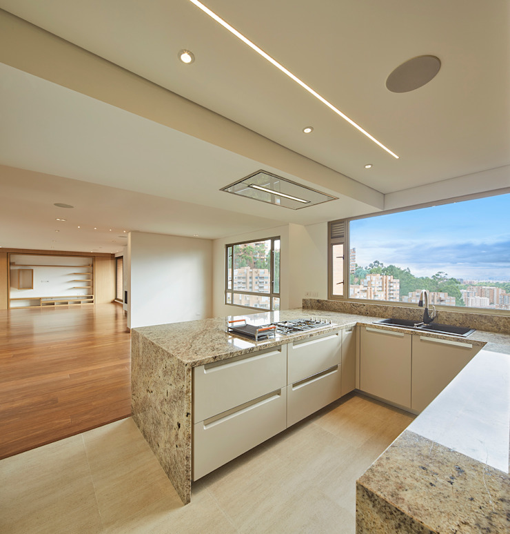 Cocina Cocinas modernas de Sentido Interior Arquitectos Moderno Granito
