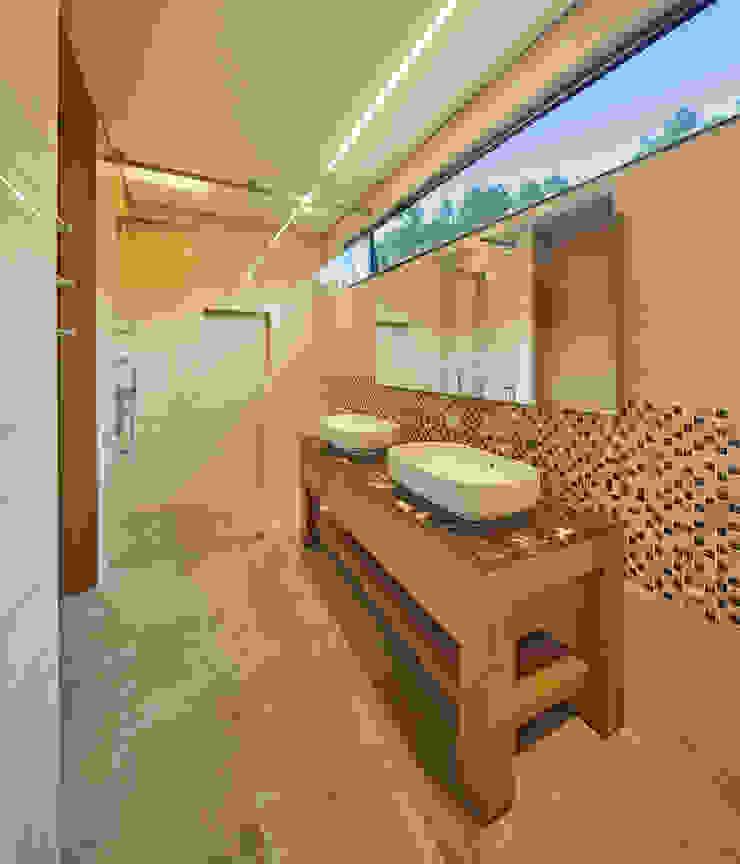Baño Principal Baños de estilo moderno de Sentido Interior Arquitectos Moderno Cerámico