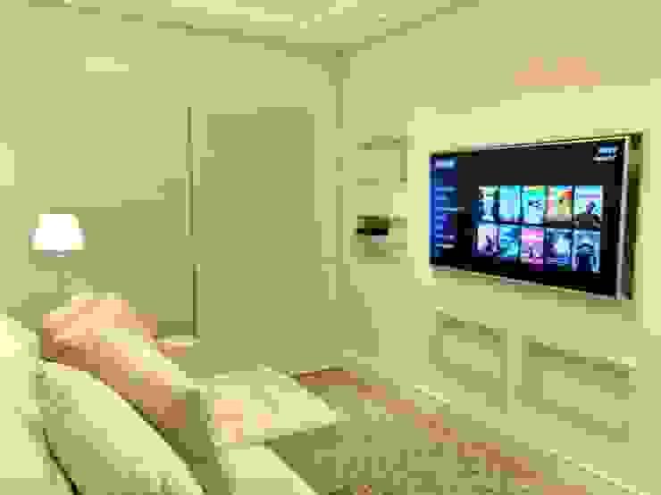 Sala de Estar Ana Laura Wolcov - ARTE WOLCOV Salas de estar modernas