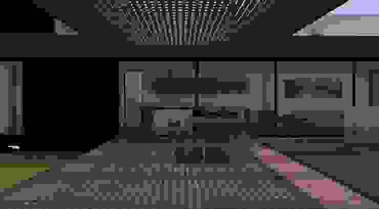 Terraza y cocina comedor de MESIA ARQUITECTOS Moderno