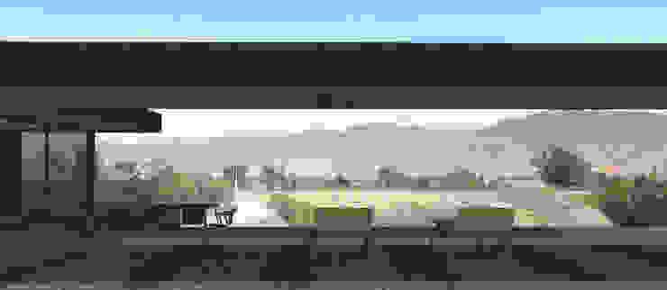 Vista al Valle de Mala de MESIA ARQUITECTOS Moderno