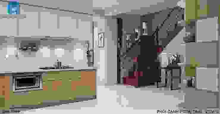 Designer Nhà bếp phong cách hiện đại bởi Công ty TNHH Nội Thất Mạnh Hệ Hiện đại MDF