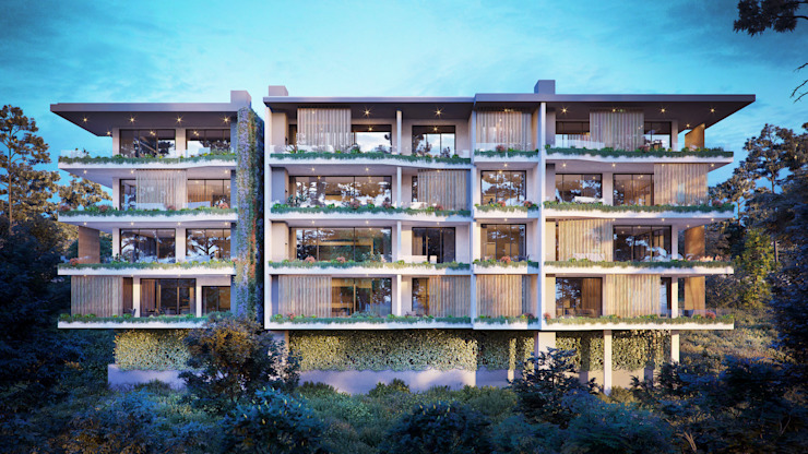 Lambert Road Luxury Apartments by OMNI Architects