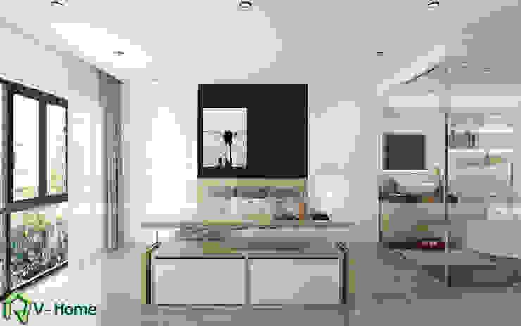 Concept Smart Hotel: hiện đại  by Công ty CP tư vấn thiết kế và xây dựng V-Home, Hiện đại