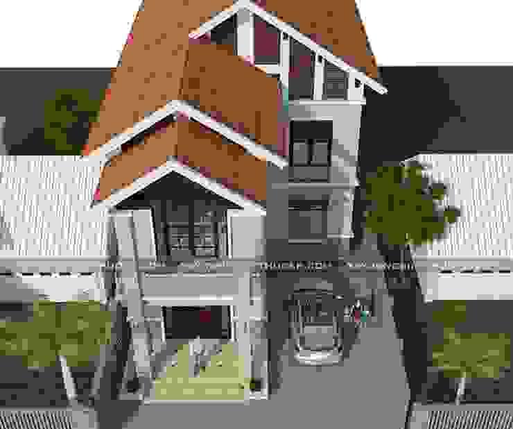 Thiết kế biệt thự 2 tầng chữ L đẹp bởi Xây Dựng Biệt Thự Đẹp Hiện đại