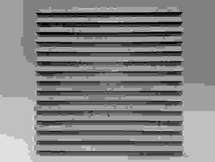 ZICARO - producent paneli 3D インダストリアルデザインの ダイニング セラミック 灰色