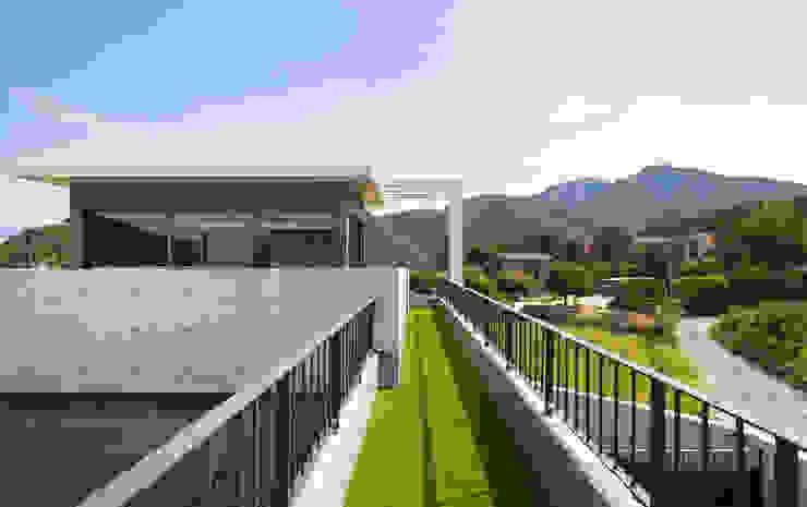 양평 단독주택 모던스타일 주택 by 건축사사무소 시월 모던
