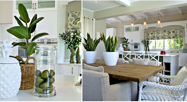 Nature inspired living spaces Classic style dining room by Joseph Avnon Interiors Classic