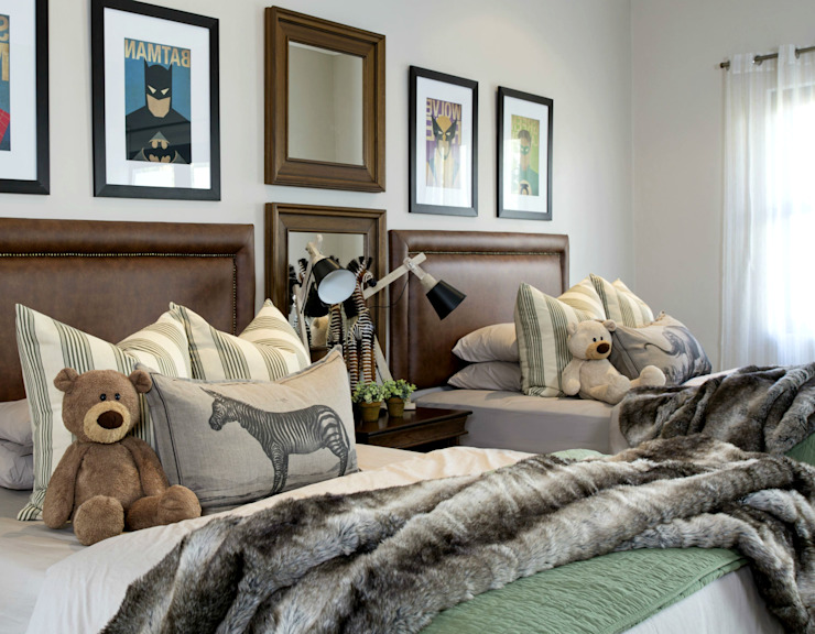 Kids Bedrooms :  Nursery/kid's room by Joseph Avnon Interiors,