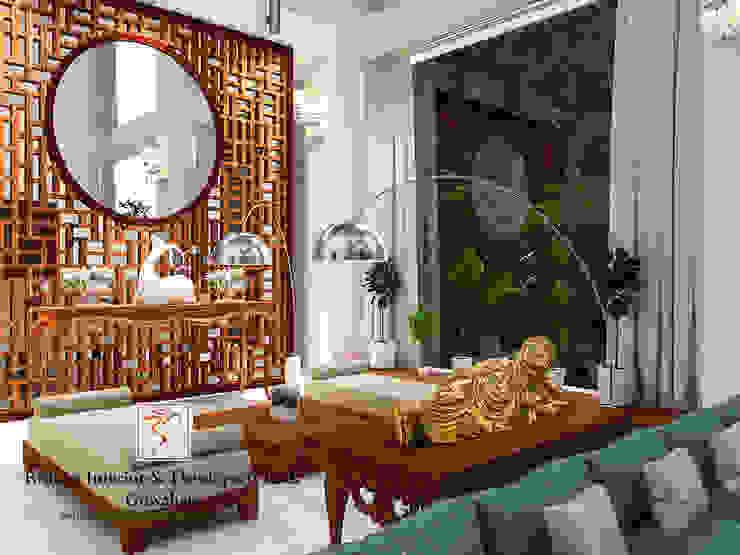 Living room Designs Modern living room by Rishika Interior & Developer (p) Ltd. Modern