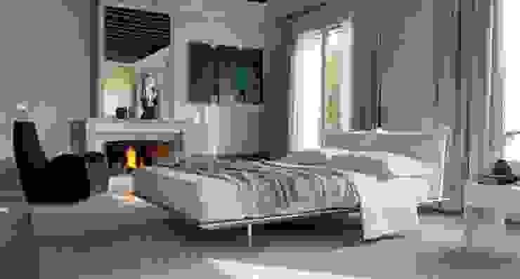 ESPAÇOS: Quartos Casal Quartos modernos por INTERDOBLE BY MARTA SILVA - Design de Interiores Moderno