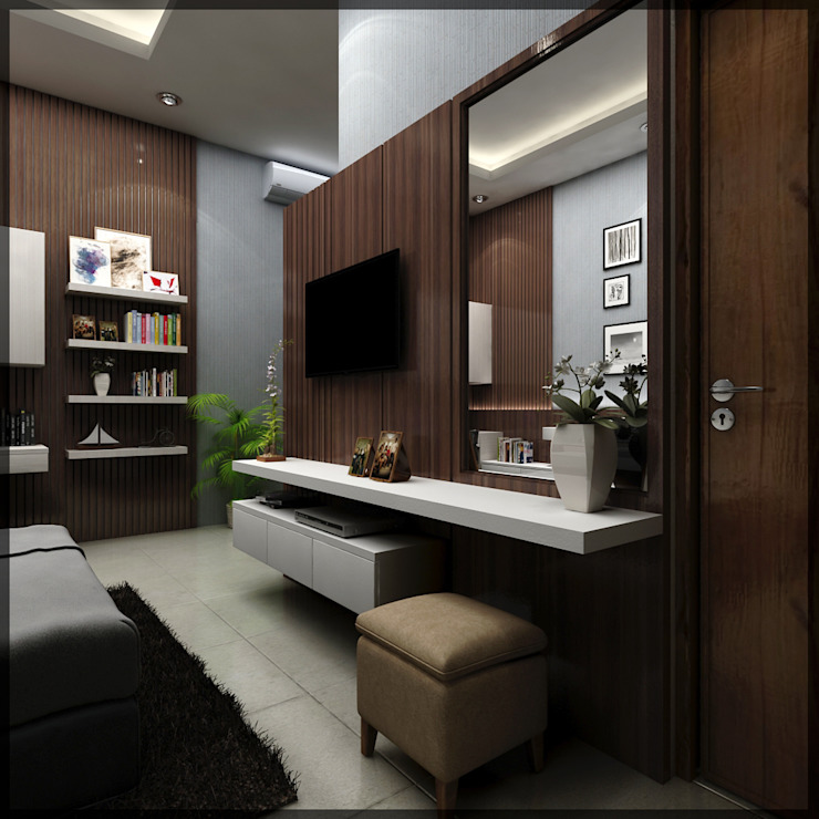 interior kamar anak di jl. patiunus raya, semarang Kamar Tidur Minimalis Oleh SUKAM STUDIO Minimalis