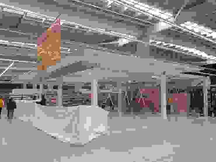 OTC ÉXITO WOW DEL COUNTRY -BOGOTÁ D.C [VITRINA & ESTRUCTURA METÁLICA] de Arquitectura & Tecnología Moderno