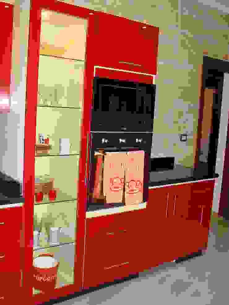 m furniture - moshir abdallah CocinaArmarios y estanterías Compuestos de madera y plástico Multicolor