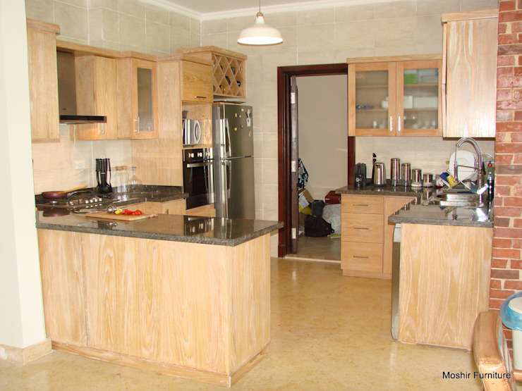 m furniture - moshir abdallah KitchenCabinets & shelves Wood Wood effect